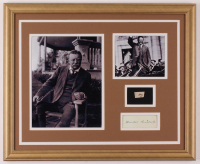 Theodore Roosevelt 18x22 Custom Framed Display with (1) Hand-Written Word From Letter (JSA LOA Copy) at PristineAuction.com