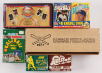 Lot of (6) Assorted Card Boxes at PristineAuction.com