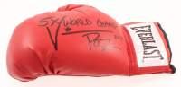 "Vinny Paz Signed Everlast Boxing Glove Inscribed ""5x World Champ"" (JSA COA) at PristineAuction.com"