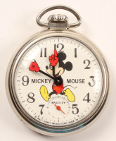 Vintage Mickey Mouse Wind-Up Pocket Watch at PristineAuction.com