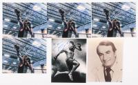 Lot of (6) Signed 8x10 Photos with Dustin Poirier & John Bernadino (JSA ALOA) at PristineAuction.com