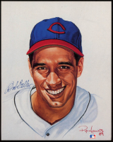 Bob Feller Signed Indians 8x10 Print (PSA COA) at PristineAuction.com