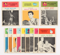 Lot of (12) 1961-62 Fleer Basketball Cards with #46 Elgin Baylor, #39 Dolph Schayes, #66 Jerry West at PristineAuction.com