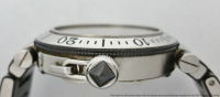 Cartier Pasha Seatimer Men's Wristwatch with Box & Papers at PristineAuction.com