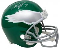 Michael Vick Signed Eagles Full-Size Helmet (JSA COA) at PristineAuction.com