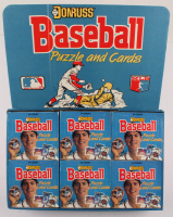 Lot of (12) 1988 Donruss Baseball Wax Card Boxes with (24) Packs Each at PristineAuction.com
