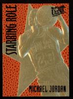 Michael Jordan 1997 Skybox 23kt Gold Basketball Card at PristineAuction.com