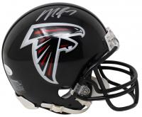 Michael Vick Signed Falcons Mini Helmet (JSA COA) at PristineAuction.com