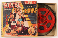 "Vintage Popeye ""The Champ"" 8mm Film Reel with Original Box at PristineAuction.com"