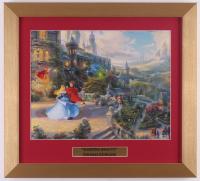 "Thomas Kinkade Walt Disney's ""Sleeping Beauty"" 14.5x16 Custom Framed Print Display at PristineAuction.com"