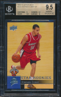 Stephen Curry 2009-10 Upper Deck #234 RC (BGS 9.5) at PristineAuction.com