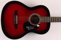 "Edgar Winter Signed 38"" Acoustic Guitar (JSA COA) at PristineAuction.com"