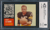 Bart Starr 1962 Topps #63 (BCCG 8) at PristineAuction.com