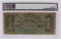 1886 $1 One-Dollar U.S. Silver Certificate Large-Size Bank Note (PMG 10) at PristineAuction.com