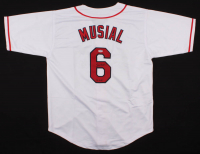 """Stan Musial Signed Jersey Inscribed """"3x MVP"""" (PSA COA) at PristineAuction.com"""