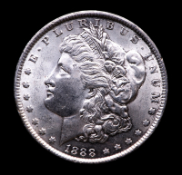 1888 Morgan Silver Dollar at PristineAuction.com