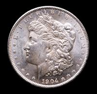 1904-O Morgan Silver Dollar at PristineAuction.com