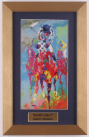"LeRoy Neiman ""Secretariat"" 10x16 Custom Framed Print Display at PristineAuction.com"