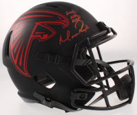 "Matt Ryan Signed Falcons Full-Size Eclipse Alternate Speed Helmet Inscribed ""2016 NFC MVP"" (Beckett COA) at PristineAuction.com"