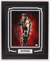 """Hollywood"" Hulk Hogan Signed WWE 18x22 Custom Framed Photo (JSA COA) at PristineAuction.com"