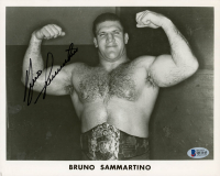 Bruno Sammartino Signed WWE 8x10 Photo (Beckett COA) at PristineAuction.com