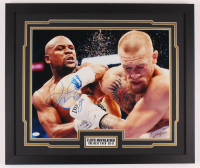 Floyd Mayweather Jr. Signed 22x26 Custom Framed Photo Display (JSA COA) at PristineAuction.com