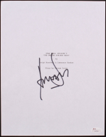 "Harrison Ford Signed ""Star Wars: Episode V - The Empire Strikes Back"" Script Cover (JSA LOA) at PristineAuction.com"