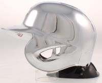 "Pete Rose Signed Reds Chrome Mini-Helmet Inscribed ""4256"" (Fiterman Sports Hologram) at PristineAuction.com"