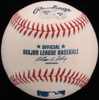 Stephen Strasburg Signed OML Baseball with Display Case (MLB Hologram) at PristineAuction.com