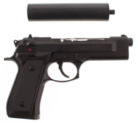"Sean Patrick Flanery & Norman Reedus Signed ""Boondock Saints"" Replica Hand Gun (JSA COA) at PristineAuction.com"