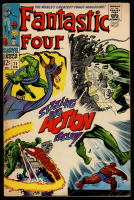 "Vintage 1968 ""Fantastic Four"" Issue #71 Marvel Comic Book at PristineAuction.com"