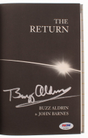 "Buzz Aldrin Signed ""The Return"" Hardcover Book (PSA COA) at PristineAuction.com"