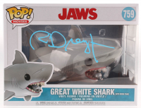 "Richard Dreyfuss Signed ""Jaws"" #759 Great White Shark with Diving Tank Funko Pop! Vinyl Figure (JSA COA) at PristineAuction.com"