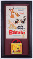 "Disneyland ""Bambi"" 15.5x28.5 Custom Framed Print Display with Vintage Film Reel at PristineAuction.com"