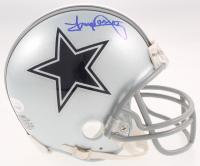 Tony Dorsett Signed Cowboys Mini Helmet (JSA COA) at PristineAuction.com