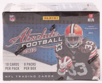 2012 Panini Absolute Football Blaster Box of (80) Cards at PristineAuction.com