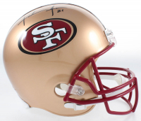 Frank Gore Signed 49ers Full-Size Helmet (JSA COA) at PristineAuction.com