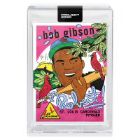 Bob Gibson 2020 Topps Project 2020 #84 Ermsy (Project 2020 Encapsulated) at PristineAuction.com