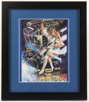 """Star Wars"" 13x15 Custom Framed Alternate Movie Poster Print Display at PristineAuction.com"