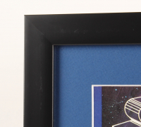"""Star Wars"" 13x15 Custom Framed Alternate Movie Poster Print Display at PristineAuction.com"