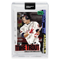Mike Trout 2020 Topps Project 2020 #85 Jacob Rochester (Project 2020 Encapsulated) at PristineAuction.com