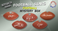 Schwartz Sports EXTREME ODDS - Football Star Signed Full Size Football Mystery Box –Series 4 (Limited to 25) - 25 Different Stars!! at PristineAuction.com