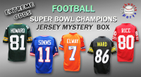 Schwartz Sports EXTREME ODDS - Super Bowl Champions Signed Jersey Mystery Box –Series 2 (Limited to 25) - 25 Different Super Bowl Champions!! at PristineAuction.com