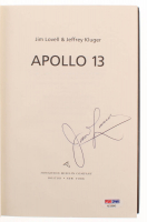 "Jim Lovell Signed ""Lost Moon: The Perilous Voyage of Apollo 13"" Hardcover Book (PSA COA) at PristineAuction.com"
