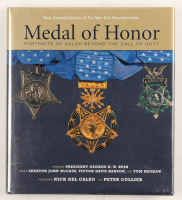 """""""Medal of Honor: Portraits of Valor Beyond the Call of Duty"""" Book Signed By (17) With Bruce Crandall, Donald """"Doc"""" Ballard, Robert Ingram, Robert Modrzejewski, Robert O'Malley (PSA LOA) at PristineAuction.com"""