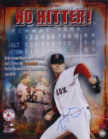 Clay Buchholz Signed Red Sox 16x20 Photo (YSMS COA) at PristineAuction.com