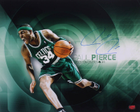 Paul Pierce Signed Celtics 16x20 Photo (YSMS COA) at PristineAuction.com