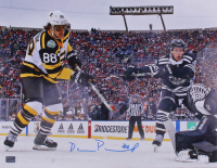 David Pastrnak Signed Bruins 16x20 Photo (YSMS COA) at PristineAuction.com