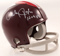 "Charley Taylor Signed Throwback Redskins Mini-Helmet Inscribed ""HOF '84"" (JSA COA) at PristineAuction.com"