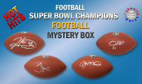 Schwartz Sports HOT HITS Super Bowl Champions Signed Full Size Football Mystery Box - Series 1 (Limited to 15) - 15 Different Super Bowl Champions!! at PristineAuction.com